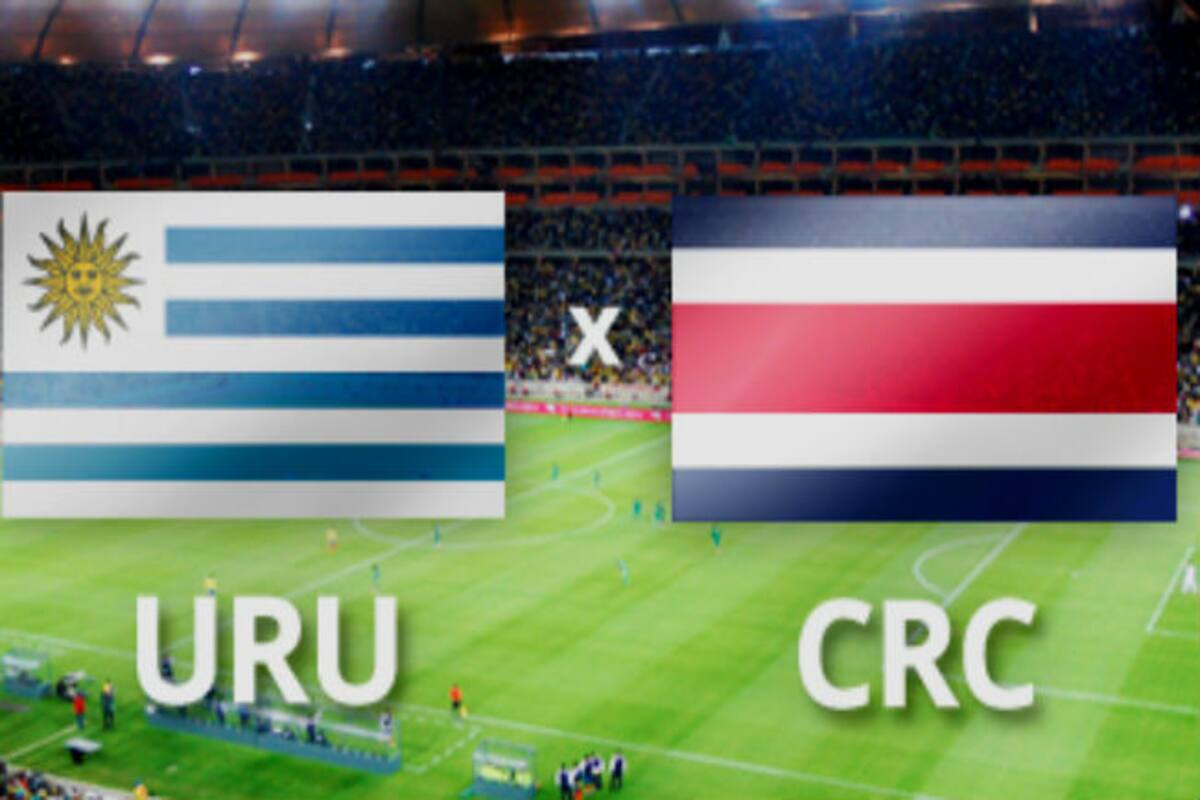 World Cup: Match 6 Uruguay vs Costa Rica